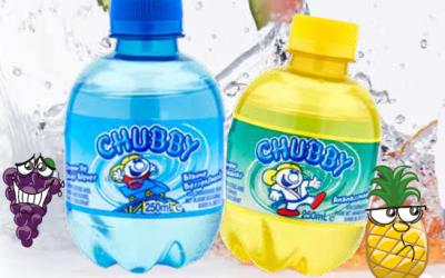 Chubby in een nieuw flesje